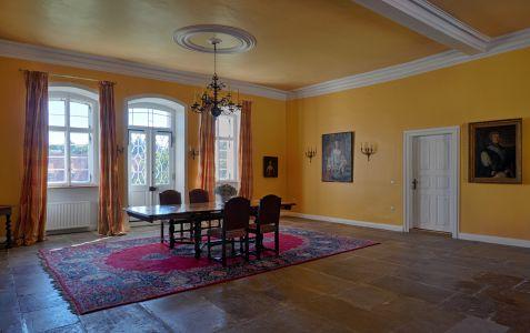 barocker Mittelsaal Schloss Massenbach