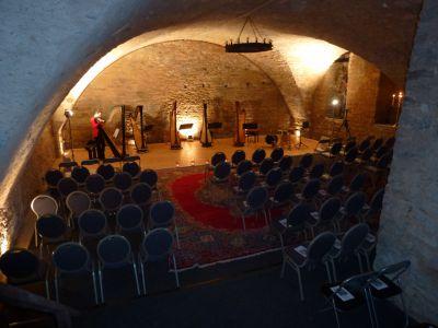 Konzert im Gewölbekeller von Schloss Massenbach