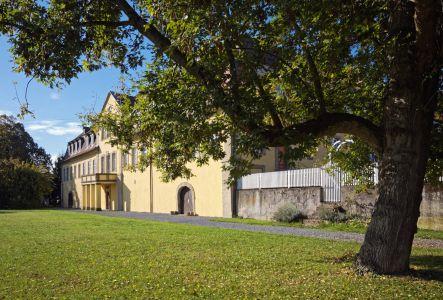 Gartenansicht Schloss Massenbach