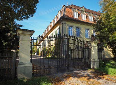 Schmiedeeisernes Tor Schloss Massenbach