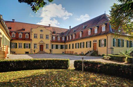 Schloss Massenbach Innenhof- Ansicht