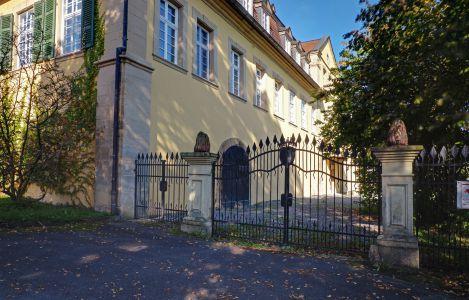 Rückansicht Schloss Massenbach